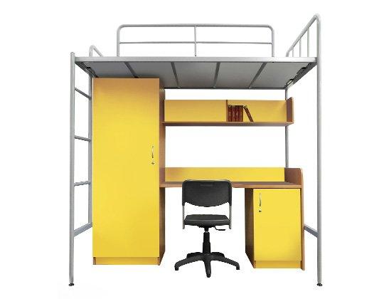 Janus hostel unit (yellow)