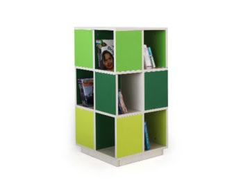 Kinder 360 library rack