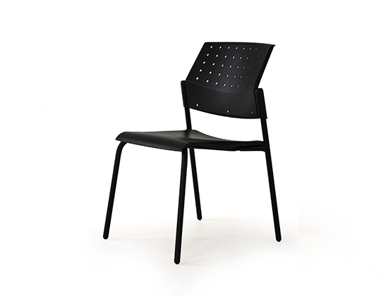 movie plastic back 4 leg chair