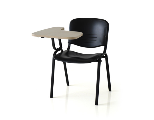 Twin fixed table chair for classroom