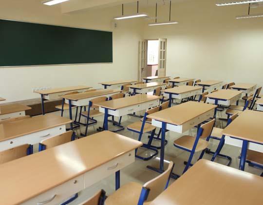 Sharada Mandir Classroom