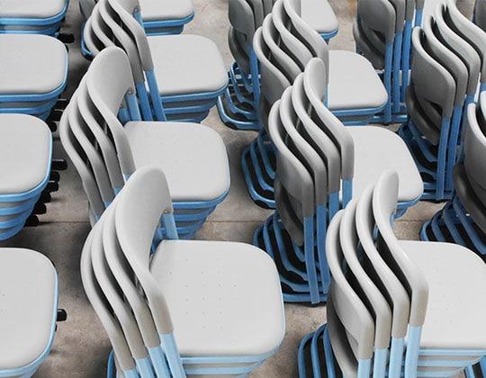 focus chairs on shopfloor