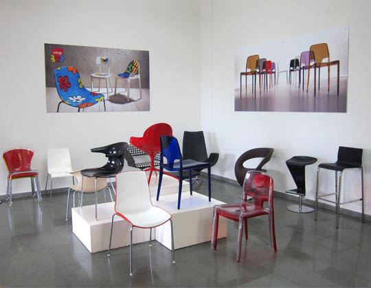 Showroom seating