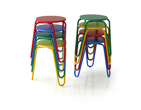 clip stool color