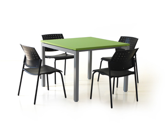 cube cafeteria table