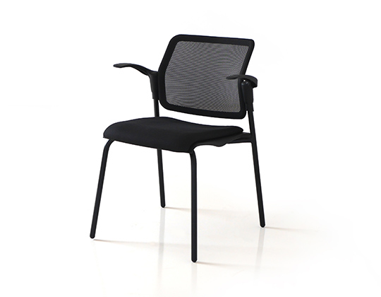 movie 4 legged meshback upholstered