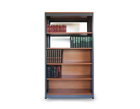 Biblio library rack with books school furniture