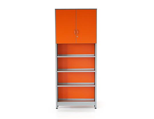 biblio library rack with shutters school furniture