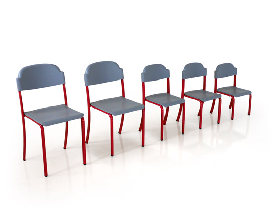 duro chairs in height order