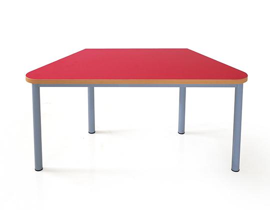 happy trapezoid table