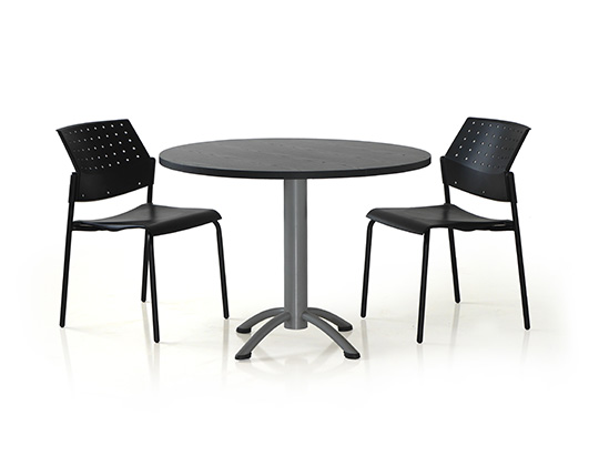 rondo table with movie chairs