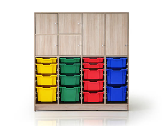 tidy lockers combo storage