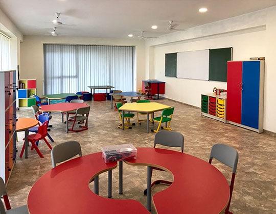 Gera school classroom