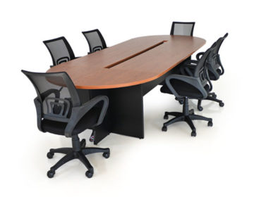 Conference table with Hobart chairs