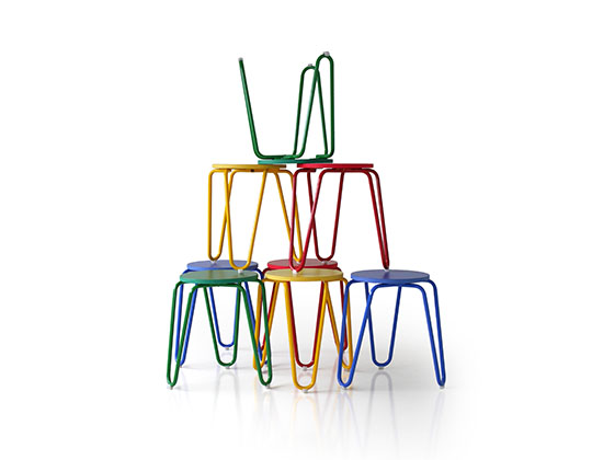 clip stool color