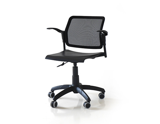 Movie mesh back swivel chair
