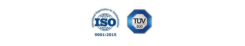 ISO TUV 9001:2015 logo