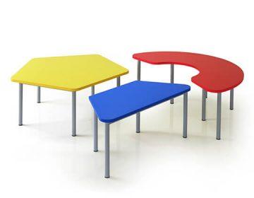 happy preschool tables